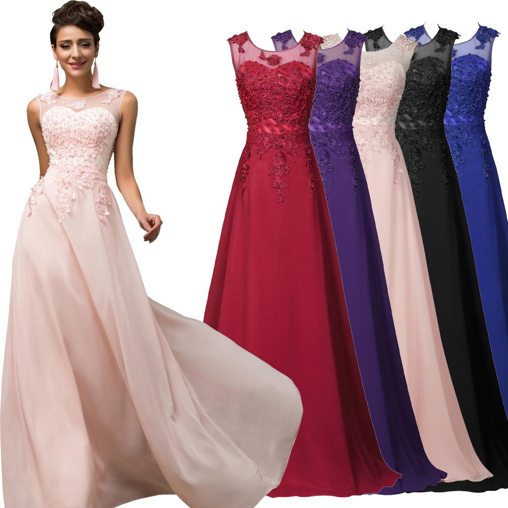 Details zu 12 Abendkleider Ballkleider Partykleid Brautjungfernkleid Lang  Party Hochzeit