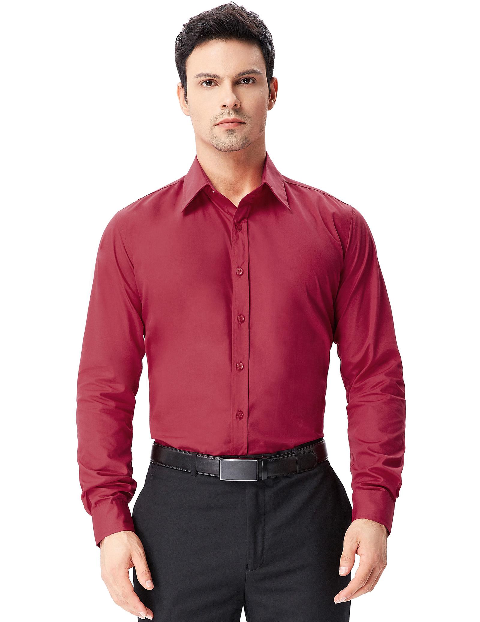 herren langarmshirt shirt hochzeit business anzug freizeit. Black Bedroom Furniture Sets. Home Design Ideas