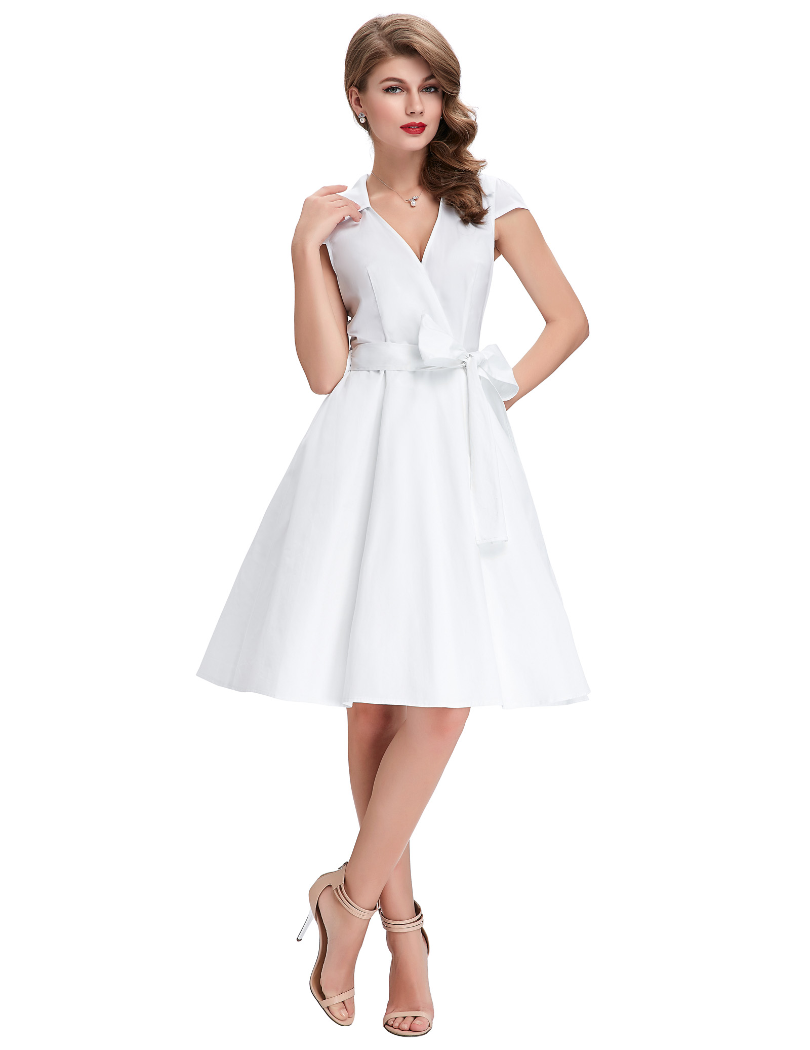 Retro 50s 60s Party Evening Cocktail Dress Housewife Swing Pinup ...