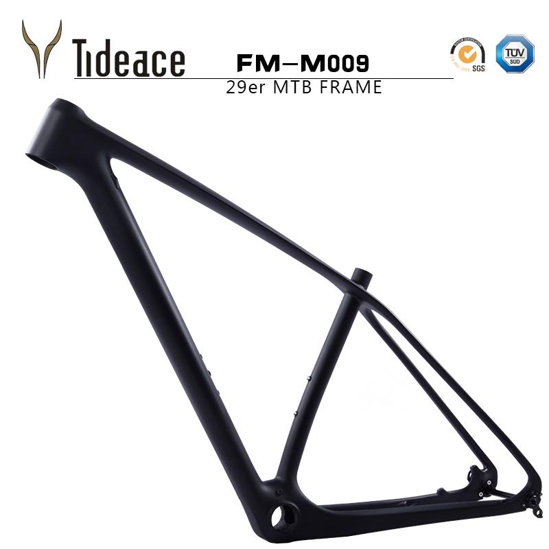 29er OEM Carbon Fiber Mountain Bicycle Frames T800 Carbon Bike Frameset PF30