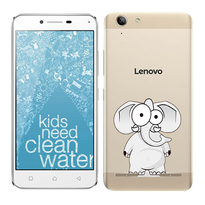 Soft TPU Silicone Case For Lenovo Vibe K5 Plus Phone Back Cover Skins Clear