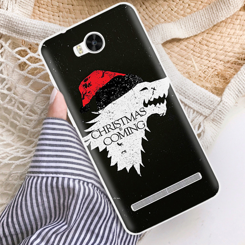 """4.5"""" Soft TPU Silicone Case For Huawei Y3 II Mobile Phone Back Cover Skins Words"""
