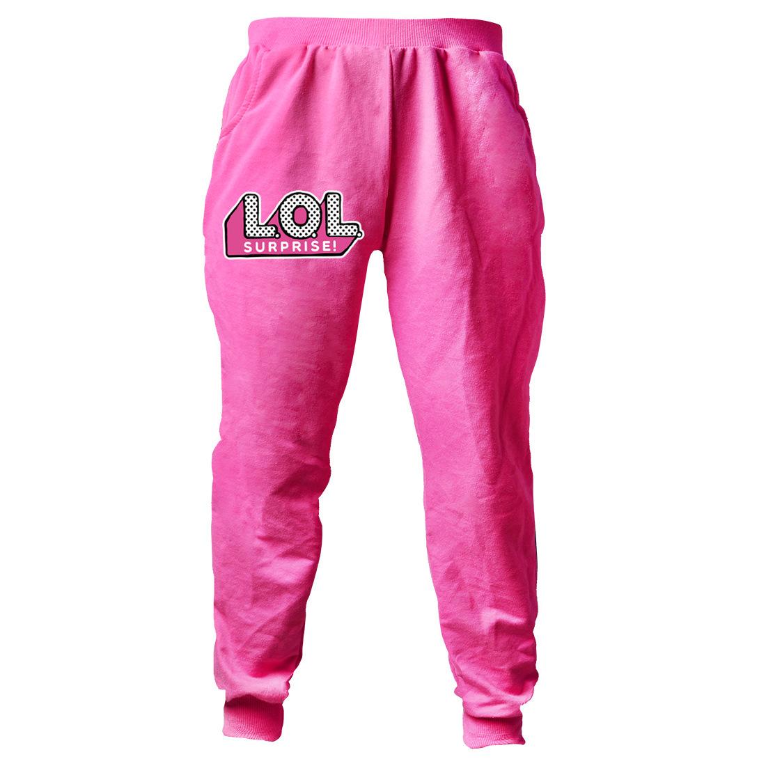 Lol Surprise Dolls Kids Girls Cosplay Casual Hoodie Sweatshirt+Trousers Sets UK