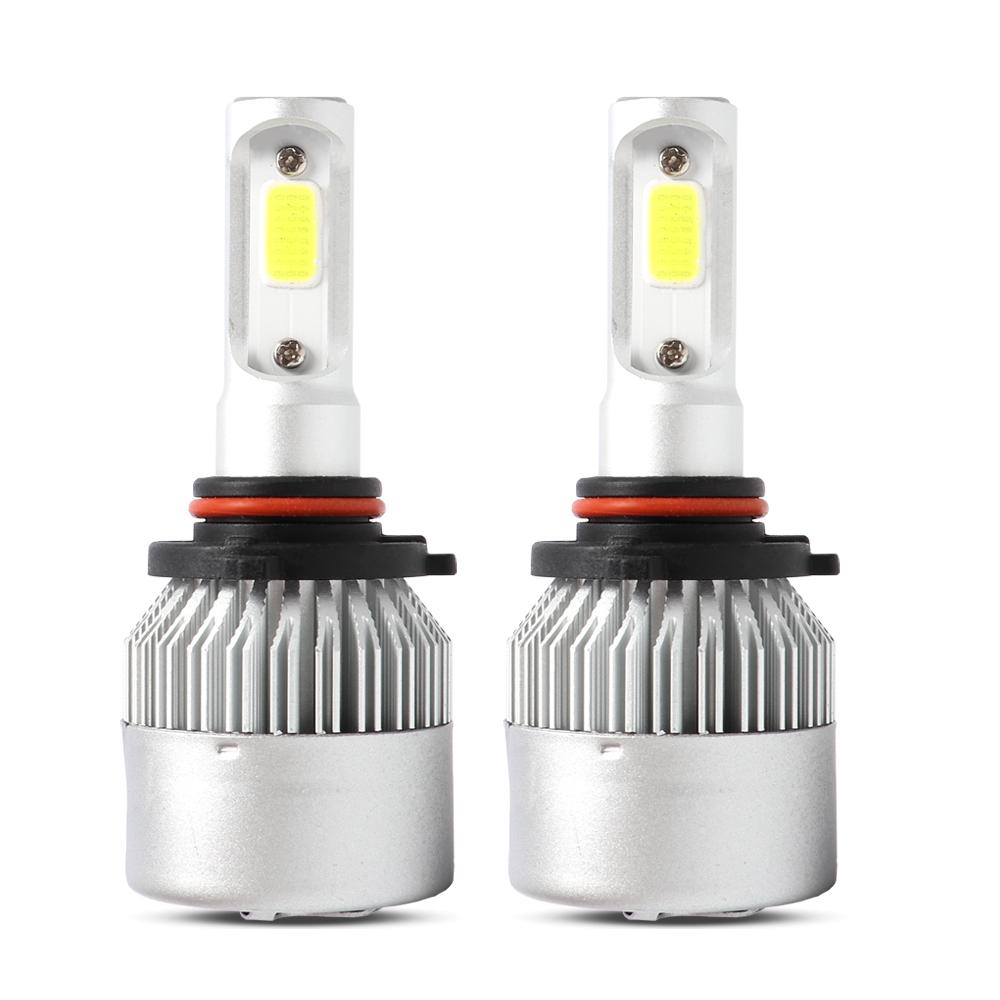 9012 HIR2 LED Headlight Bulb for 2017-2018 Toyota Corolla RAV4 Hi//Low Beam Light