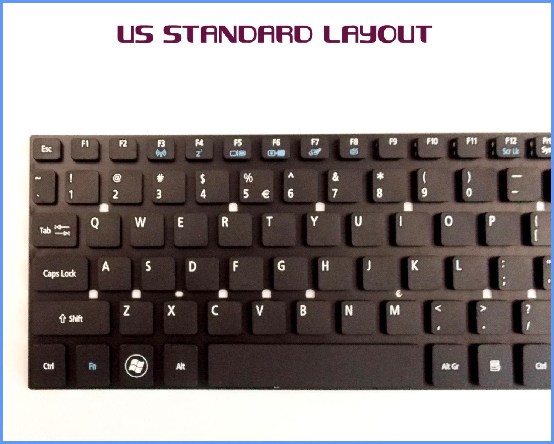New Laptop US Keyboard for Gateway NV55S17U NV57H12H NV57H44U NV57H26U NV57H58u