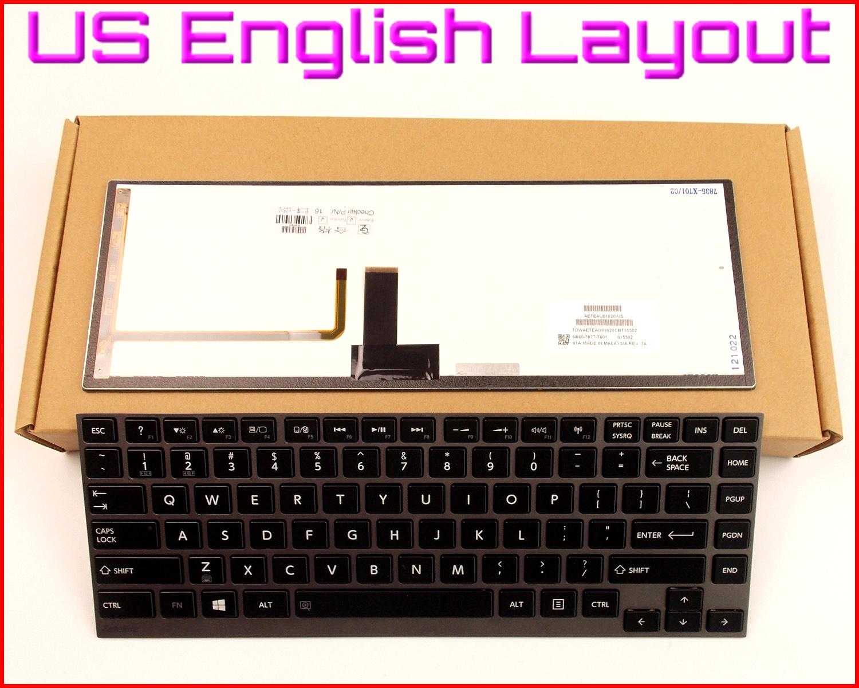 New for Toshiba Satellite U800 U840 U840W U845 U845t U900 U920t Keyboard backlit