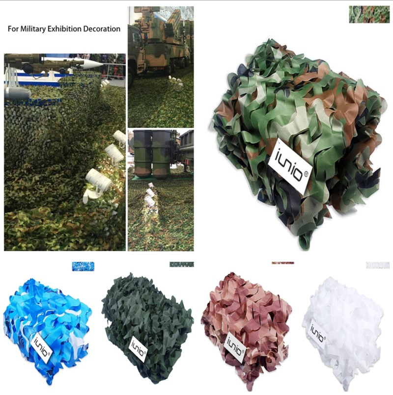 Camo Net Military Hunting Hide Shooting Camping Hide Camouflage Net Woodland 02