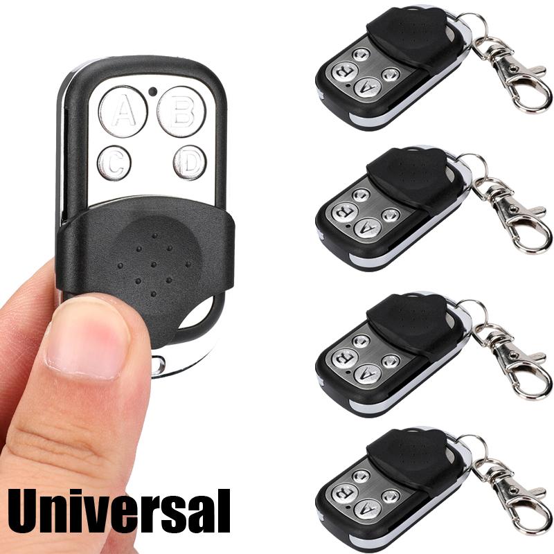 Universal Electric Garage Door Cloning Remote Control Key Fob 433mhz Gate Opener