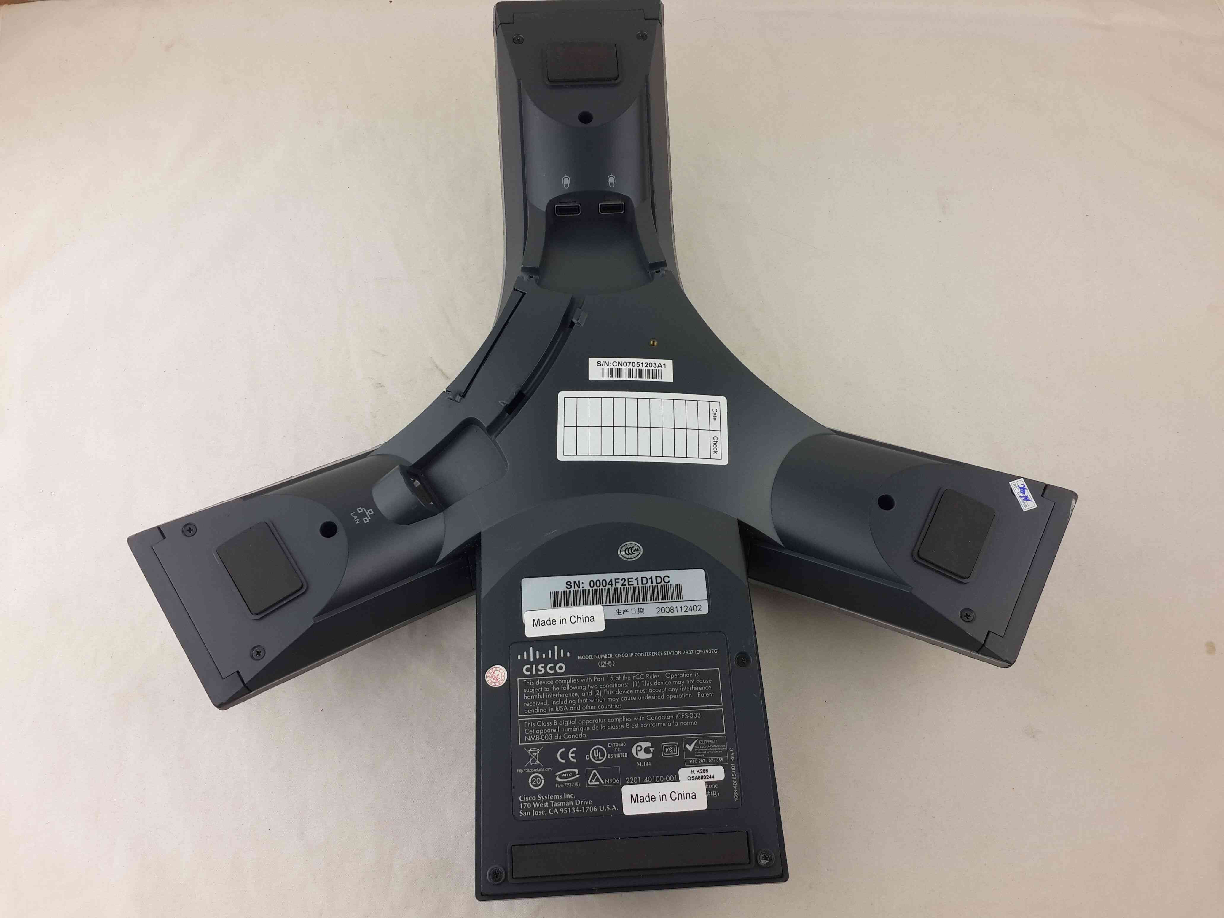 Used Cisco Polycom IP Conference Station 7937 CP-7937G