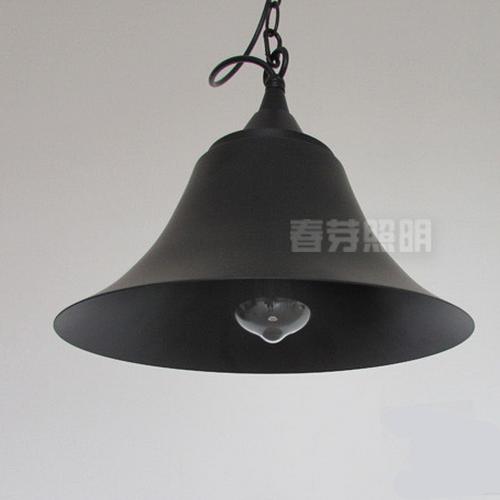 Vintage-Industrial-DIY-Modern-Black-Metal-Ceiling-Lamp-Light-Pendant-Bell-Shapes