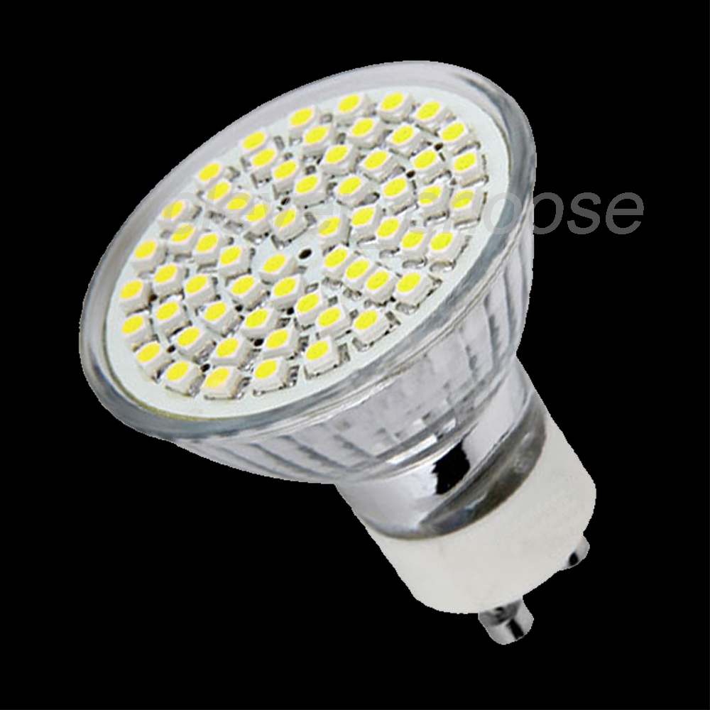 gu10 3528 smd 60 led lampe birne spot licht leuchtmittel weiss 2 5w 220 240v ebay. Black Bedroom Furniture Sets. Home Design Ideas