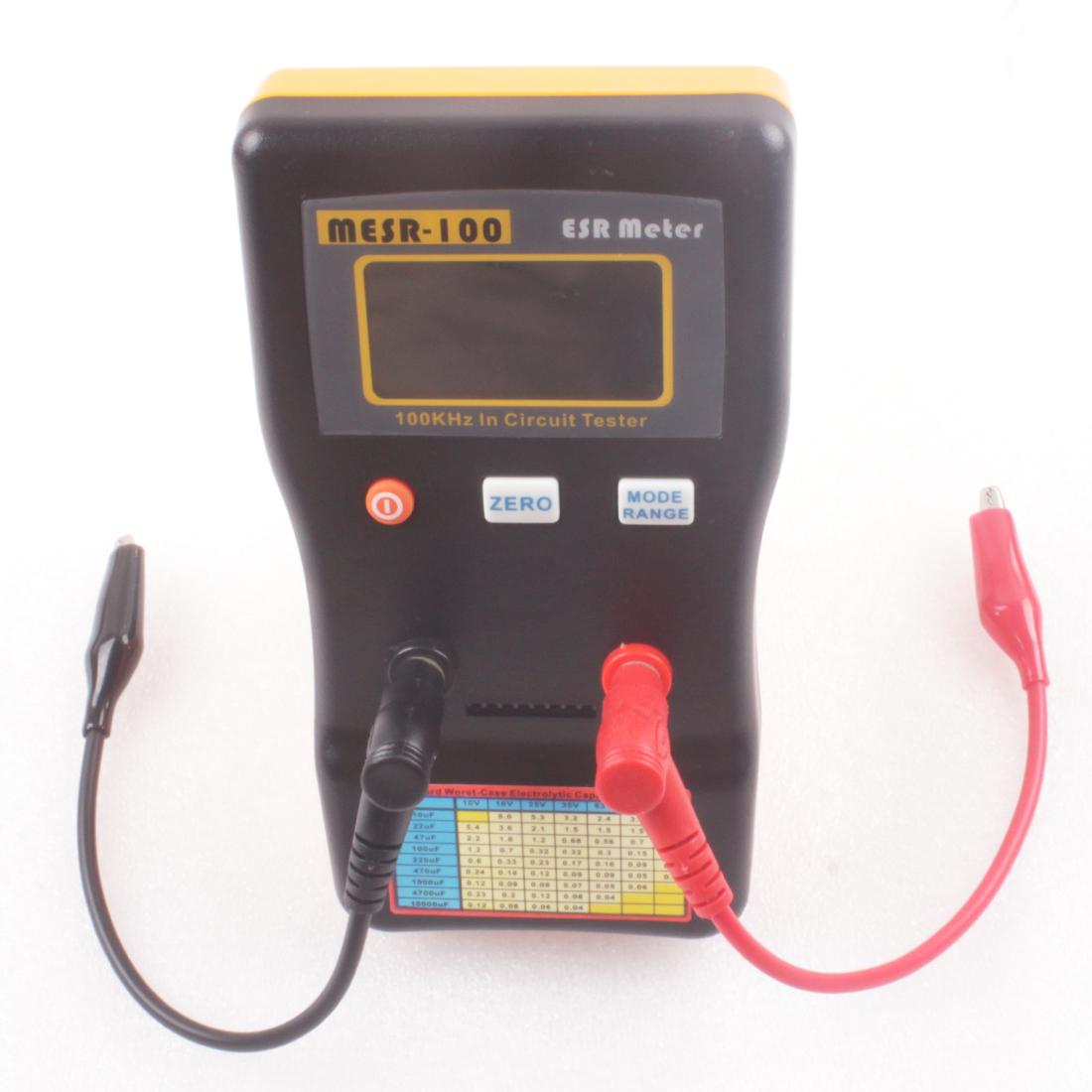 Brand New Mesr100 Autoranging Esr Tester In Circuit Capacitor Meter