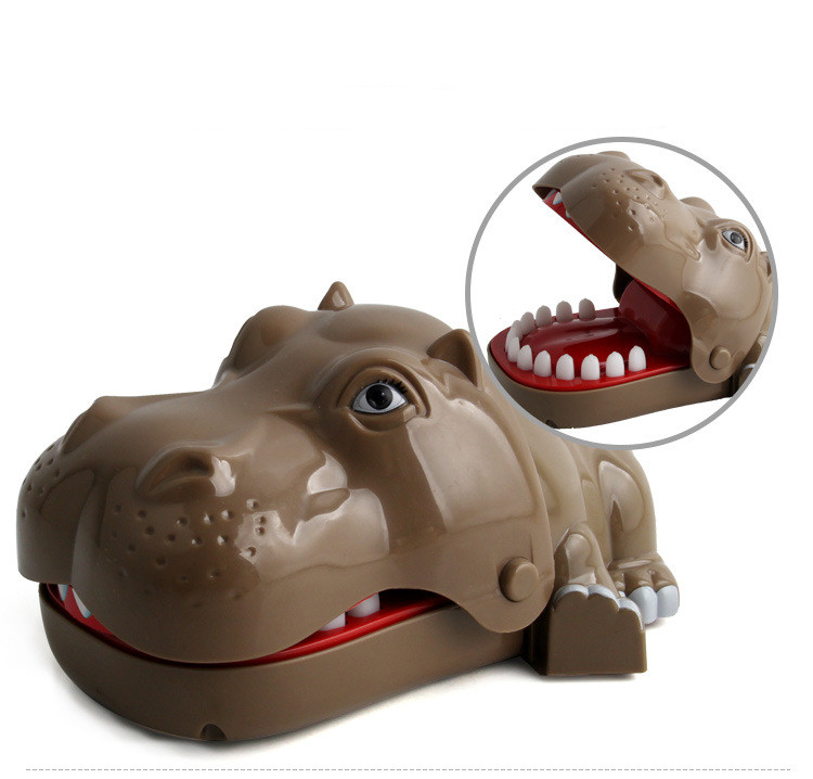 Bite Hand Hippos Funny Gadgets Mouth Gags Practical Jokes Prank Gag Gifts