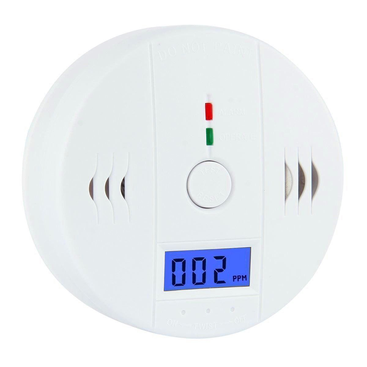 Carbon Monoxide Detectors The Best Professional Home Safety Wireless Co Carbon Monoxide Poisoning Smoke Gas Sensor Warning Alarm Detector Lcd Displayer Kitchen Security & Protection