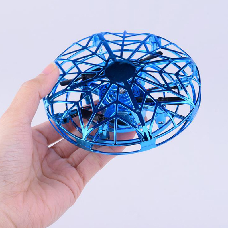 Hover Ufo Mini Infrared Drone Flying Toy Sensing Induction