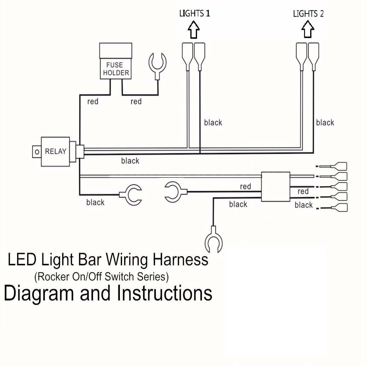Light And Lighted 3 Way Switch Wiring Diagram With Relay Driving 5 Pins Led Bar Rocker Loom