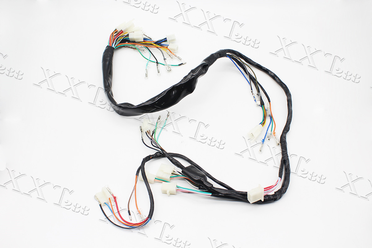 wiring harness electrical main wire set for suzuki gn250 1985