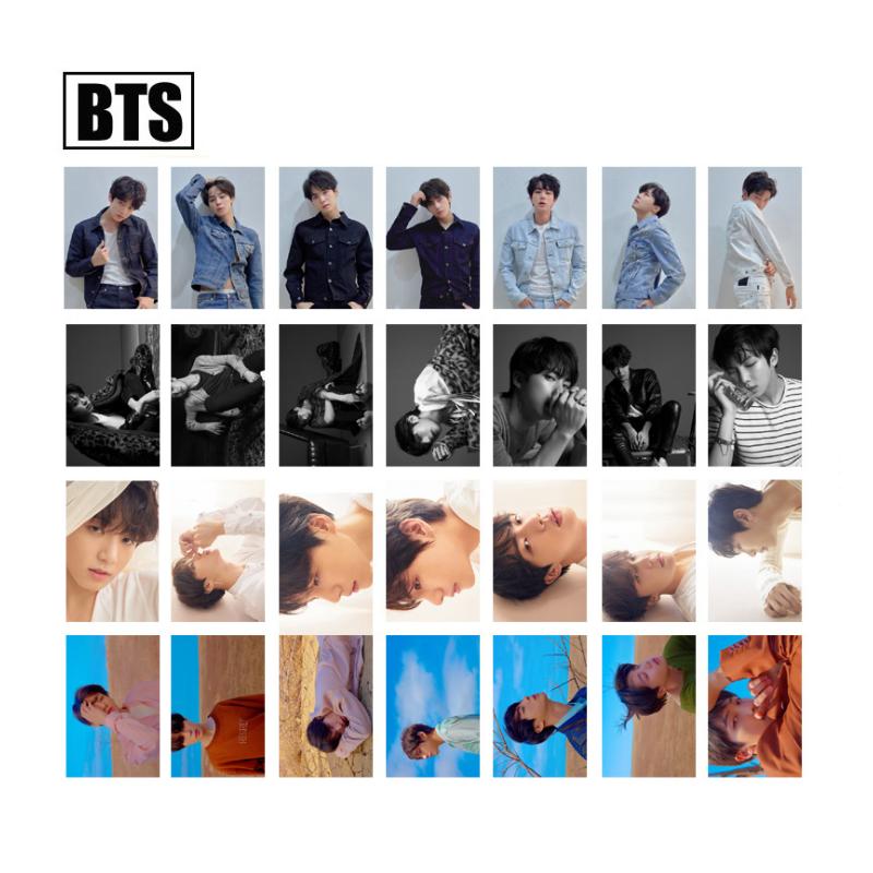 Details Zu Kpop Love Yourself 转 Tear Transparent Lomo Cards Pvc Photocard Unofficial