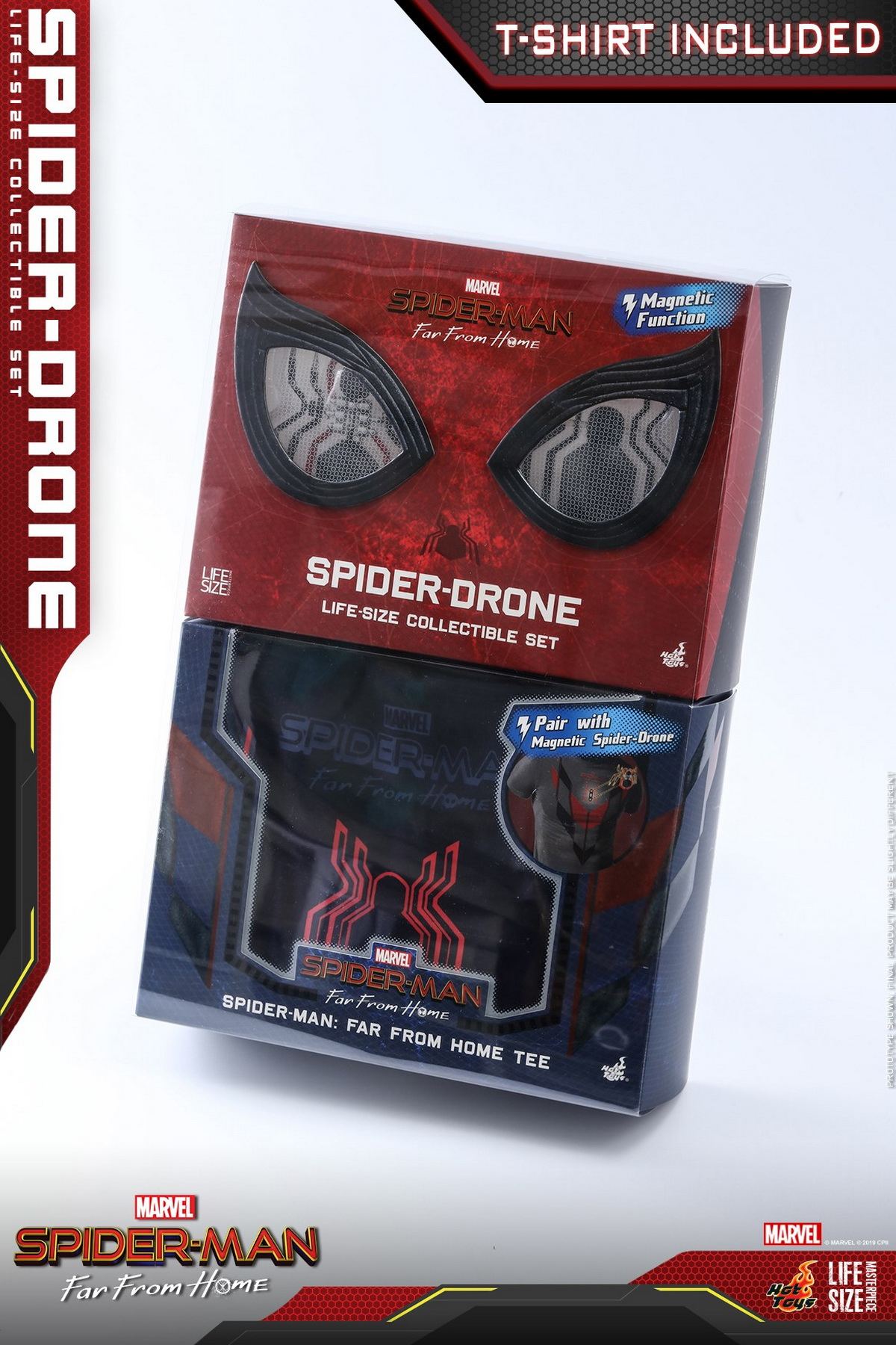Far From Home Spider-Drone Life-Size Collectible Set LMS011 Hot Toys Spider-Man