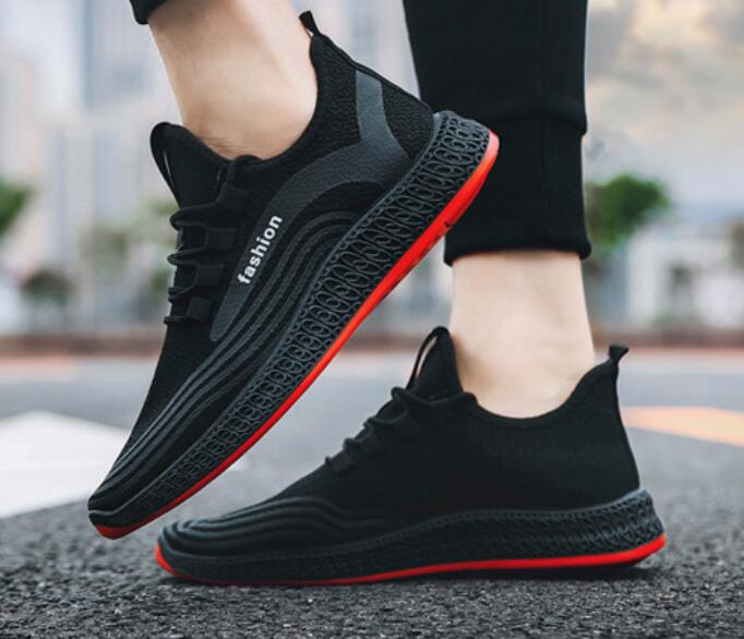 Men-039-s-Athletic-Running-Breathable-Shoes-Sports-Casual-Walking-Jogging-Sneakers thumbnail 10