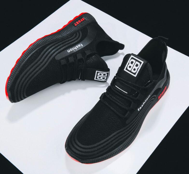 Men-039-s-Athletic-Running-Breathable-Shoes-Sports-Casual-Walking-Jogging-Sneakers thumbnail 22