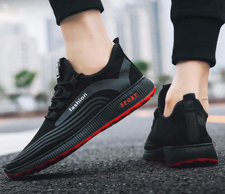 Men-039-s-Athletic-Running-Breathable-Shoes-Sports-Casual-Walking-Jogging-Sneakers thumbnail 25