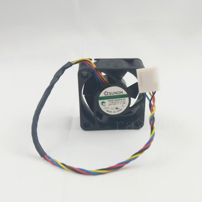 SUNON 40*40*20MM 12V 1.1W KDE1204PKVX 4Pin Cooling Fan