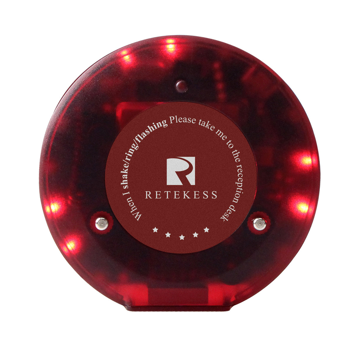 Restaurant Wireless Paging System Small Light 999CH 2X Keypad+60X