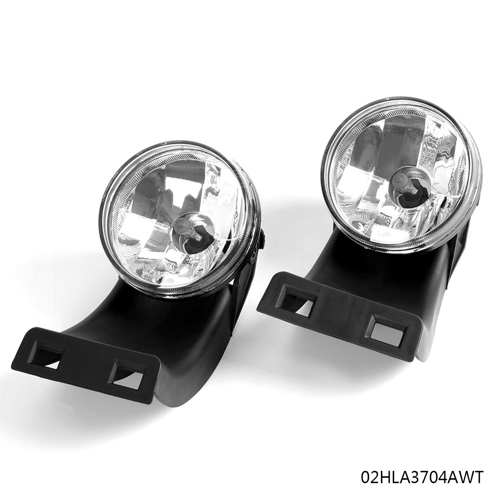 55055180 CH2593109. CH2592109 Fog Lights Replacement for 1994-2002 Dodge Ram 1500 2500 3500 Pick Up Truck with Clear Lens 881 12V 27W Halogen Bulbs Fog Lamps for Driver and Passenger Side 55055181