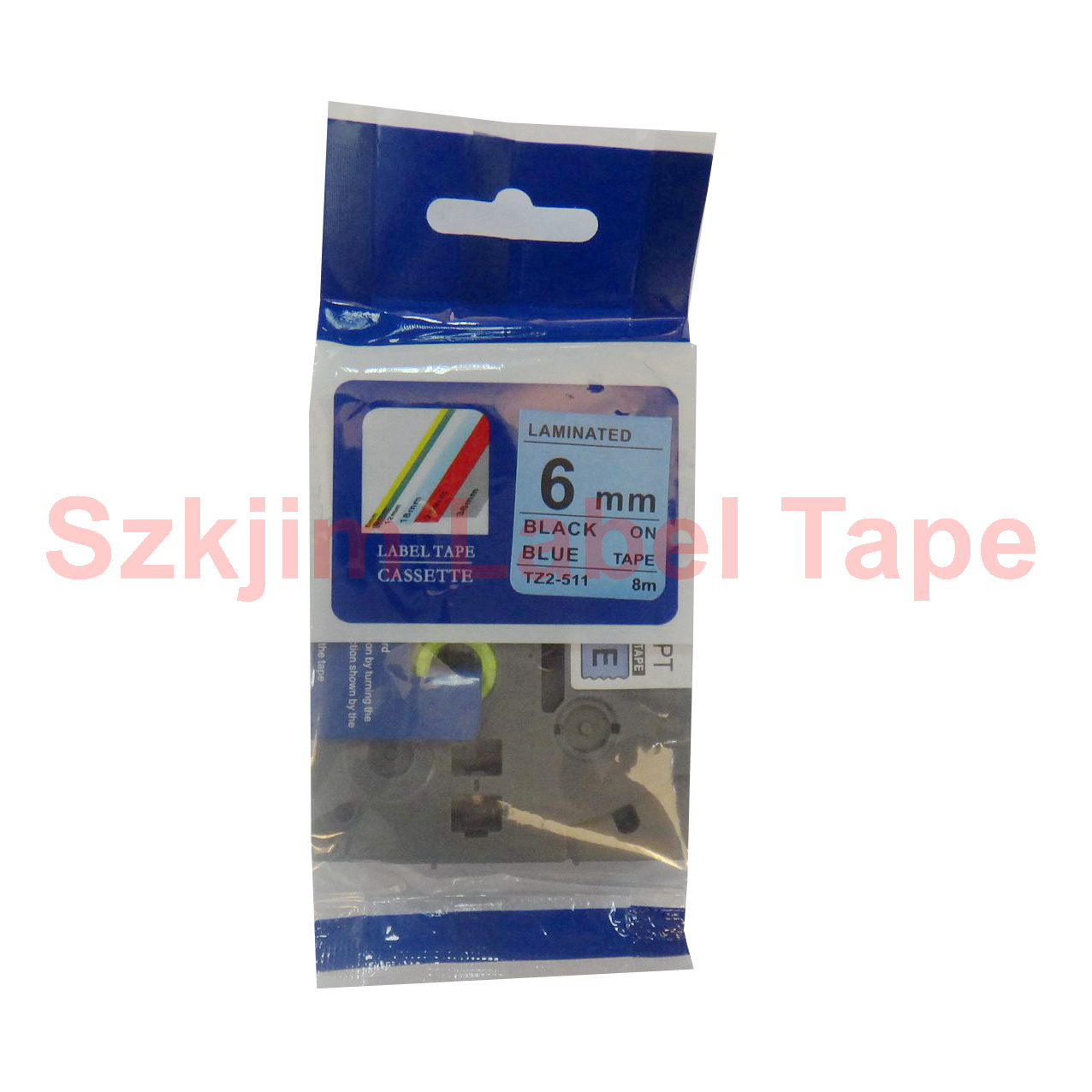 Compatible TZ631 Black on Yellow Label Tape for Brother P-Touch Serial Label Printing Machines 12mm x 8m