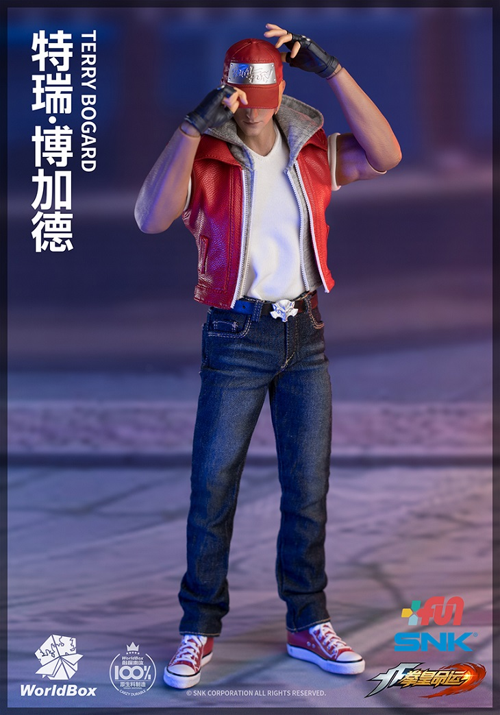 1//6 scale WorldBox KF009 King of Fighters Terry Bogard hands set