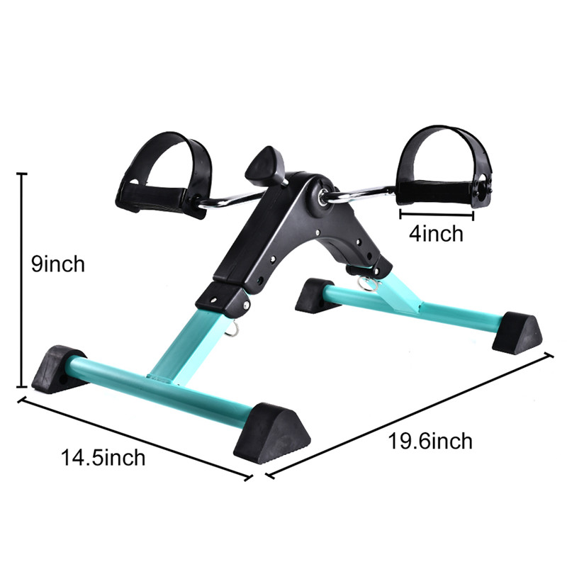 Portable Pedal Exerciser Under Desk Exercise Machine Arm Leg Peddler