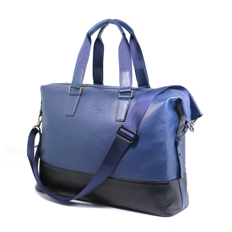 846cb80d903f Details about Real Leather Men's Duffle/Gym Bag Briefcase Hand Bag Shoulder  Bag messenger bag
