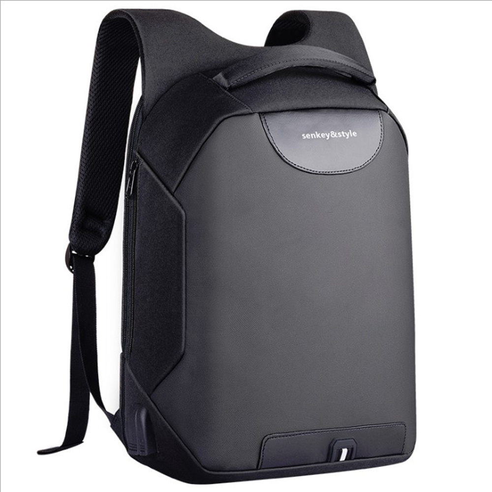 48927e24a32 Anti-Theft Business Laptop Backpacks USB Charging Port Water ...