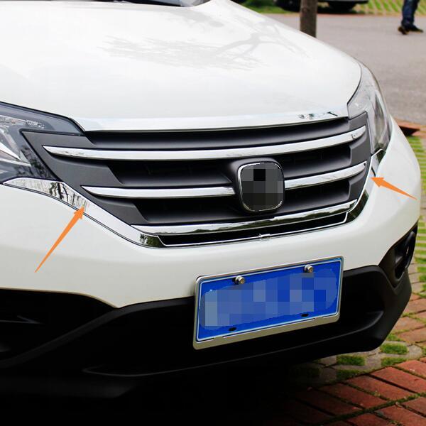 For Honda CRV CR-V 2012 2013 2014 Chrome Front Bottom Grille Grill cover trim