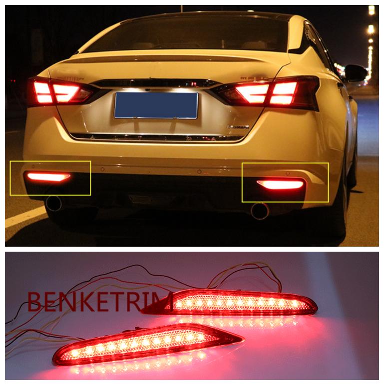 LED Left /& Right Front Fog Lights Lamp Assembly*2 For Nissan Altima 2019 2020 SR