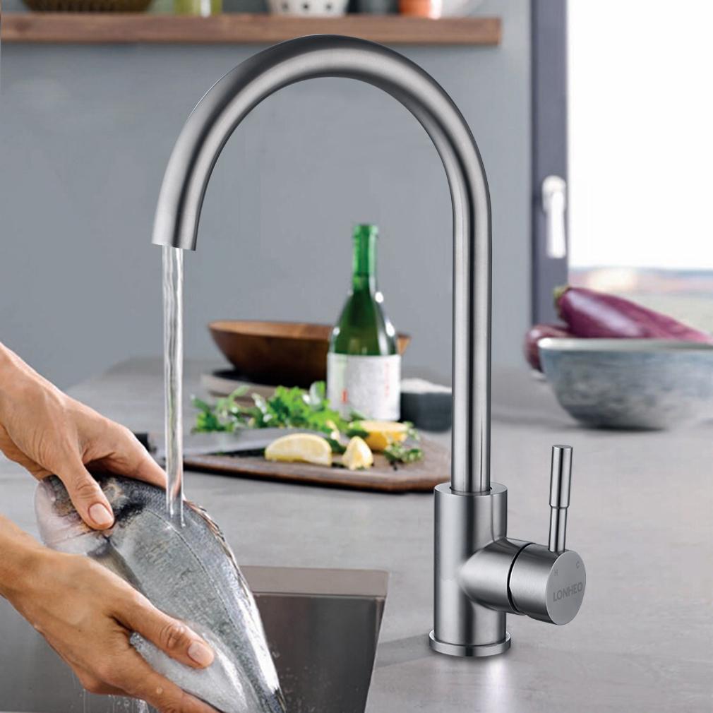 Küchenarmatur Küche Spültisch Armatur Wasserhahn Einhandmischer