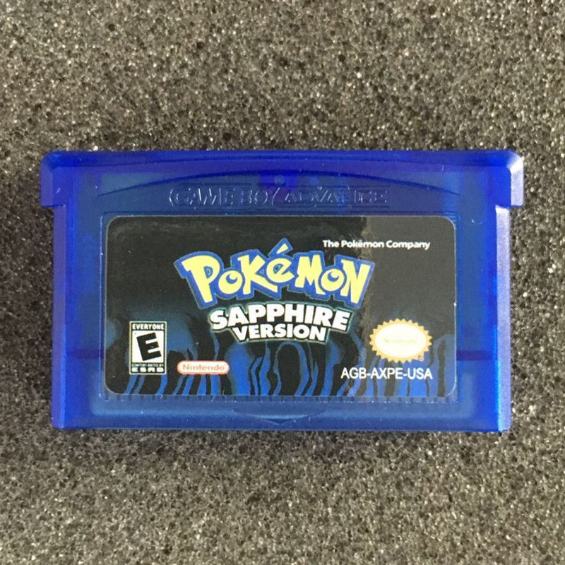 Fan Advance Gameboy Cartridge Game Card For Pokemon NDSL/GBC/GBM/GBA/
