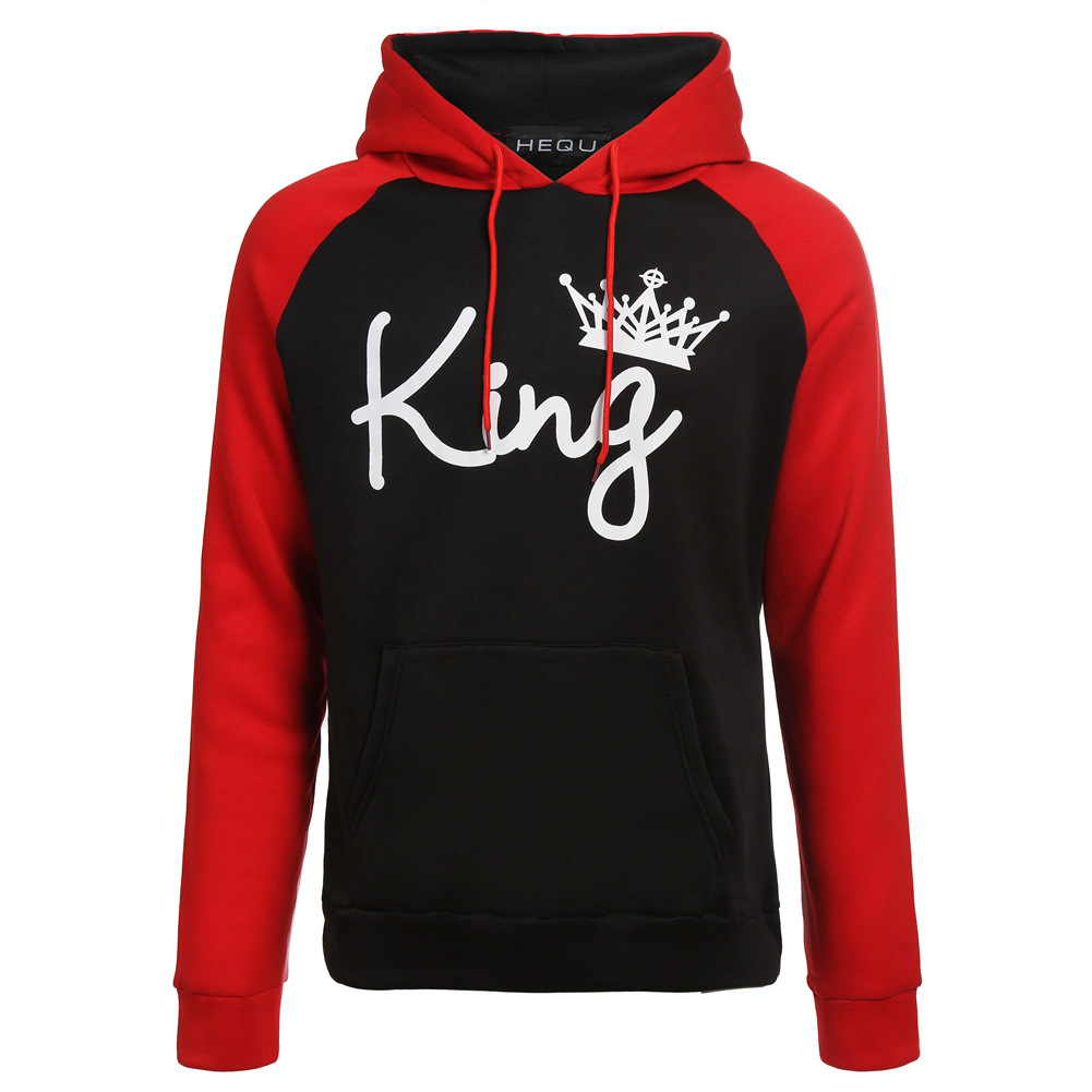 5baf5f4eddf Details about Couple Hoodie - King And Queen His and Hers - New Design  Couple Matching Hoodie