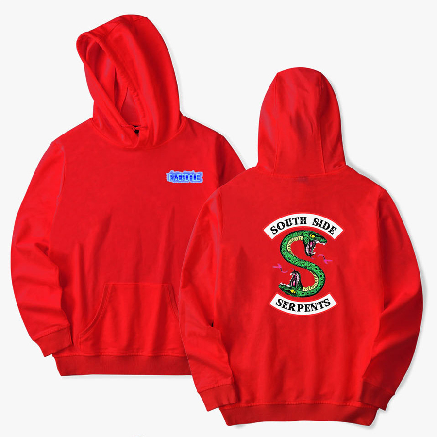 US Southside Serpents Mens Funny Riverdale TV Show Hoodie Programme for unisex