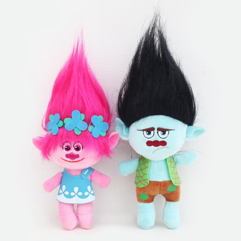 2pcs Movie Trolls Poppy Branch Hug N Plush Doll Toy Set Gift 9 23cm Ebay