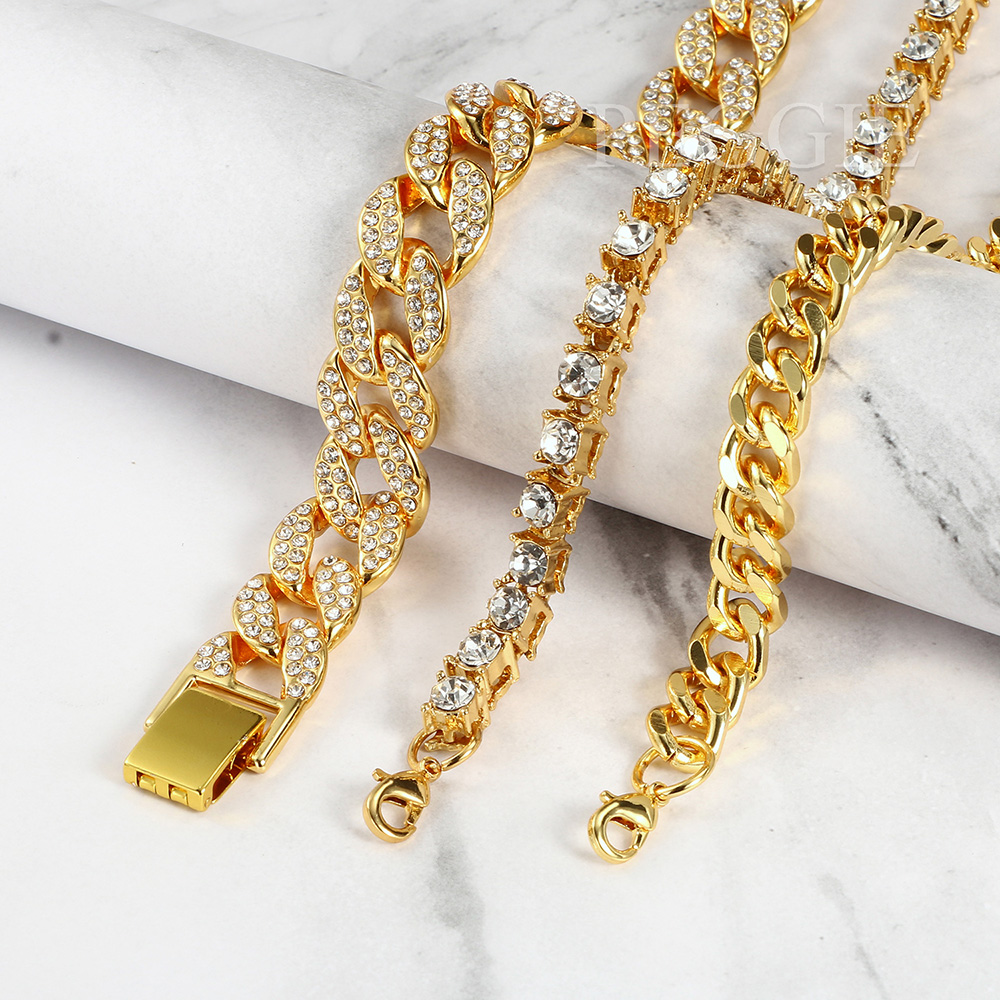 Lab Made Diamond Cuban Link Chain