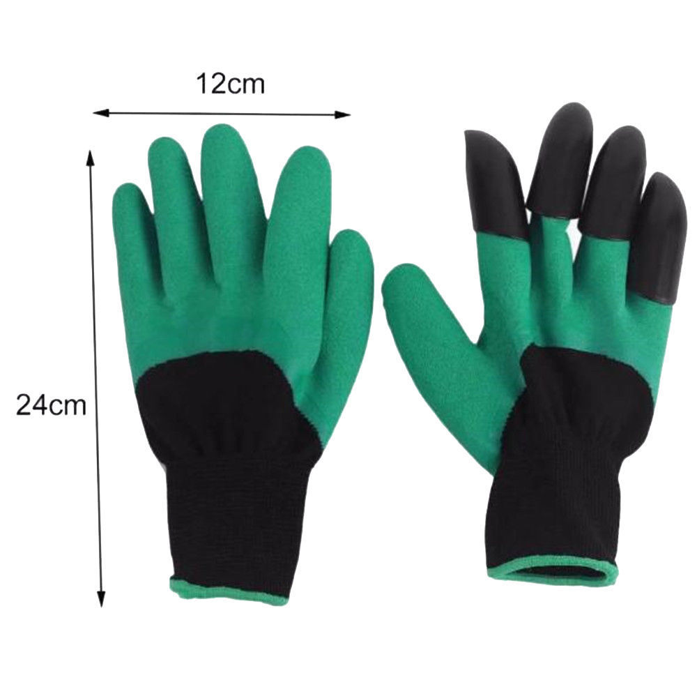 Protective Gears Responsible 4pcs Abs Plastic Claws Gloves Supplies Garden Plant Digging Protective Safety Party Decor Household Tools Garden Gloves Hot Garden Gloves