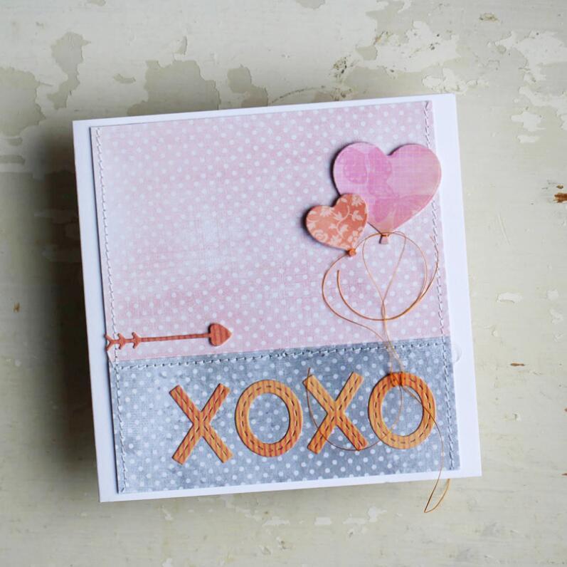 Liebe Herz Metall Stencil Cutting Dies Scrapbooking Karten Tagebuch Album DIY