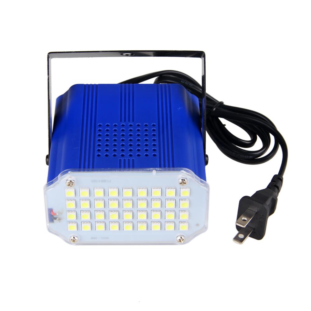 Mini 36pcs White Led Light Stage Lamp Club Party Festa Disco Strobe Stroboscope Bulb