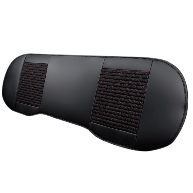 pu leder universal car r cksitzschoner r ckbank schonbezug. Black Bedroom Furniture Sets. Home Design Ideas