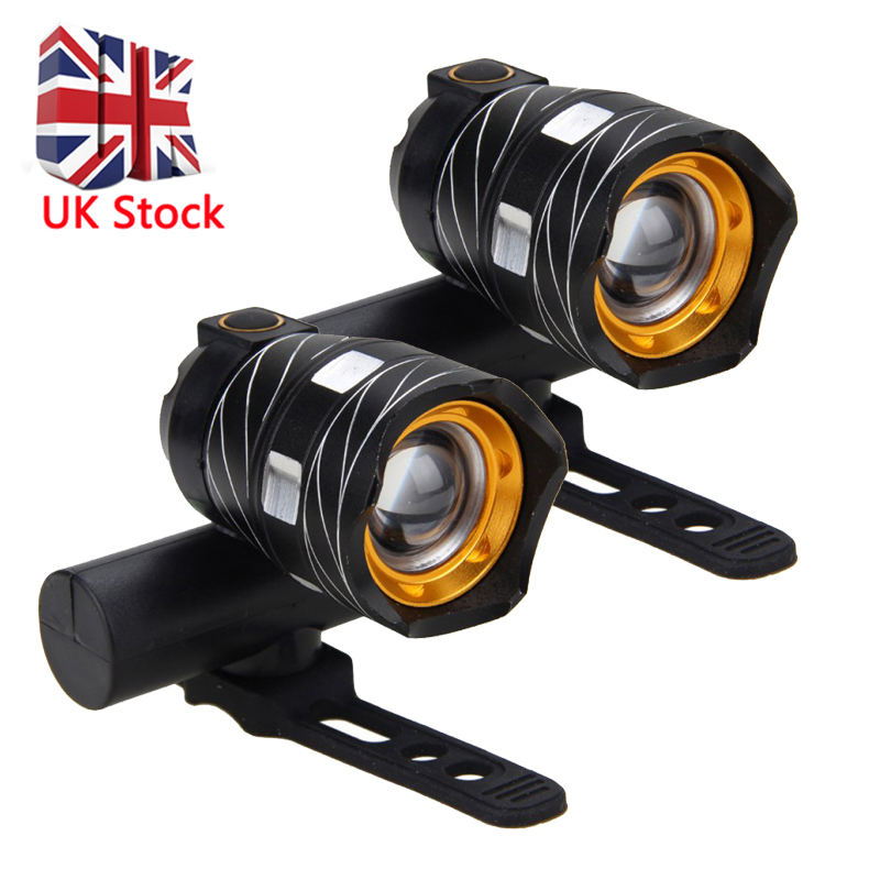 Super Bright 5000LM USB Rechargeable Bicycle Light Front Bike MTB Head Lamp HOT