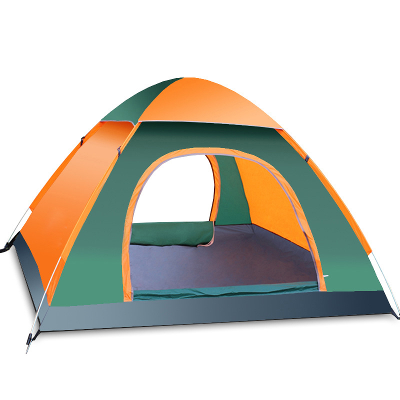 3 4 person automatisch verdicken zelt regenfest campingzelt pop up zelt wurfzelt ebay. Black Bedroom Furniture Sets. Home Design Ideas