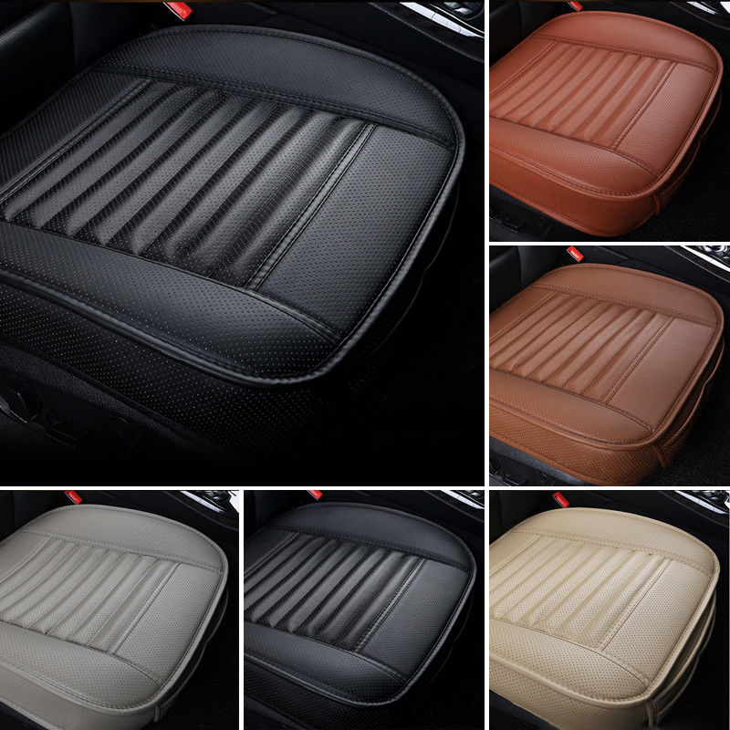 Bamboo Charcoal PU Gray Car SUV Seat Cushion Full Surround Breathable Seat Cover