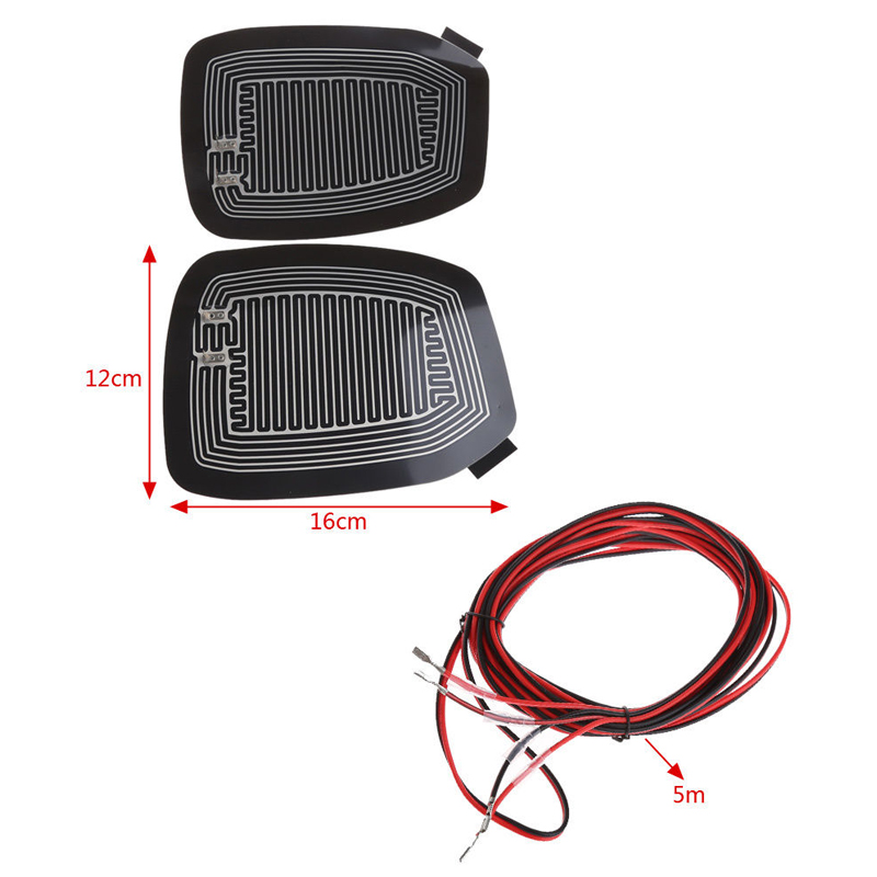 Universal Quick Warm12V Car Side Mirror Glass Heater Heated Defogger Pad Mat top